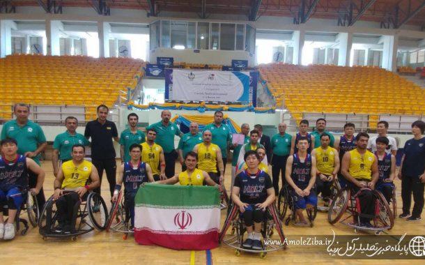 قهرمانی تیم بسکتبال با ویلچر شهرداری آمل در جام پادشاهی تایلند/نماینده ایران بهترین بود