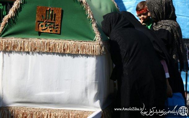 مجمع جهاني حضرت علي اصغر همزمان با ٤٥٠٠ نقطه در ايران و جهان در آمل برگزار شد+گزارش تصویری