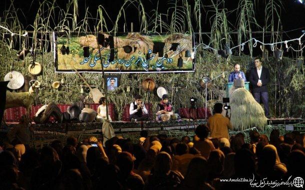 دومين جشن خرمن در روستاي اسكي محله آمل برگزار شد