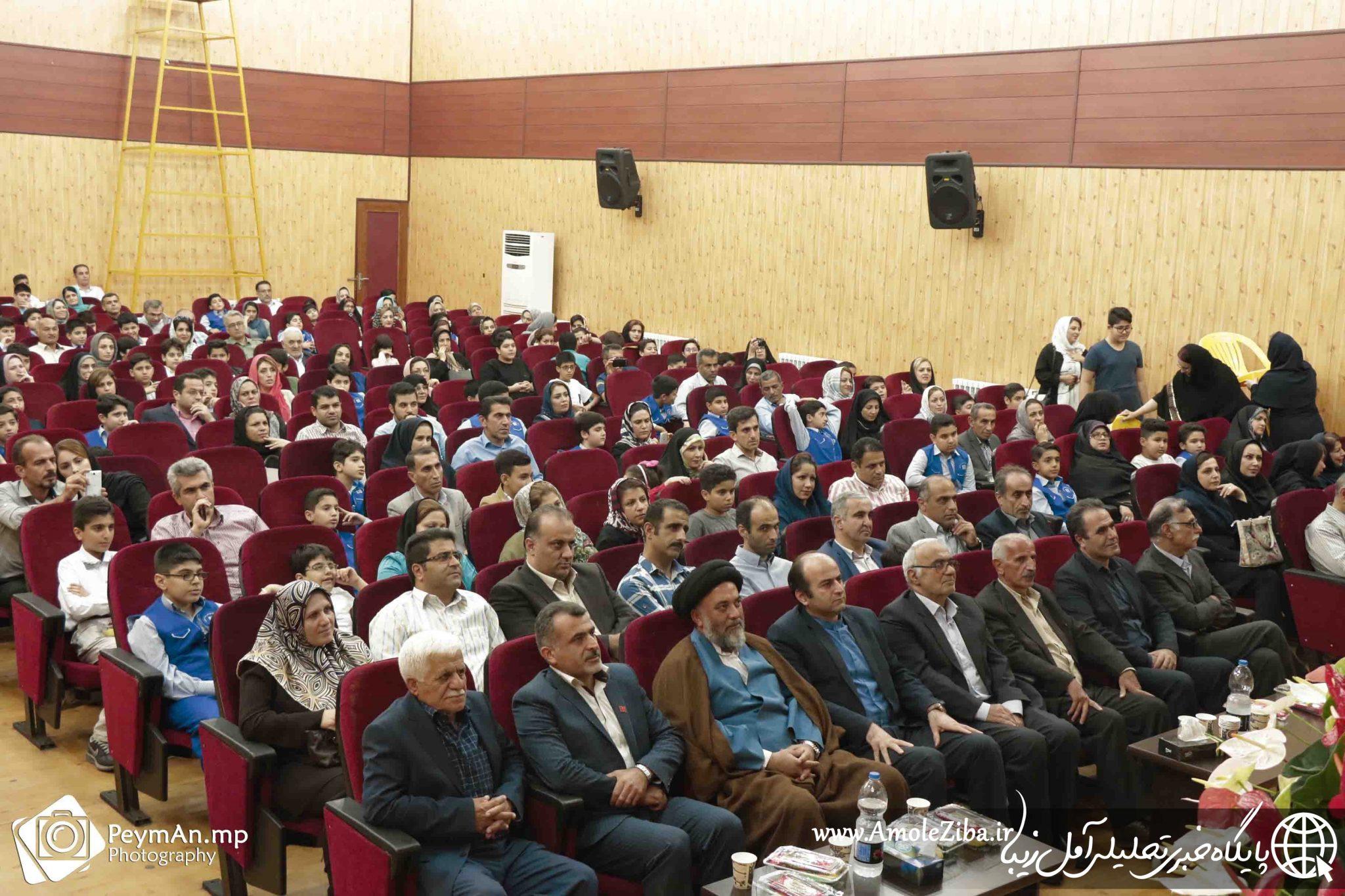 گزارش تصویری از مراسم افتخارآفرینان دبستان هاتف