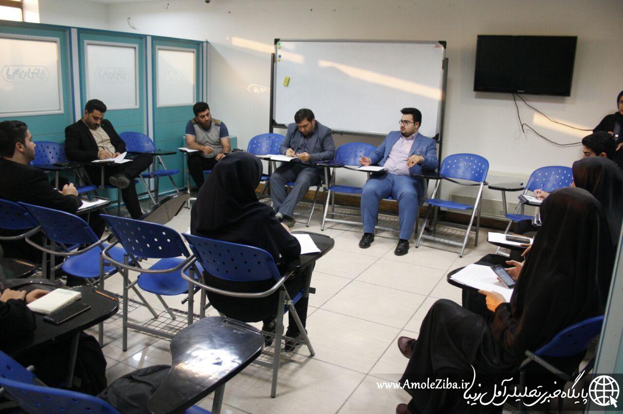 جلسه هم اندیشی خبرنگاران و رسانه ها در آمل