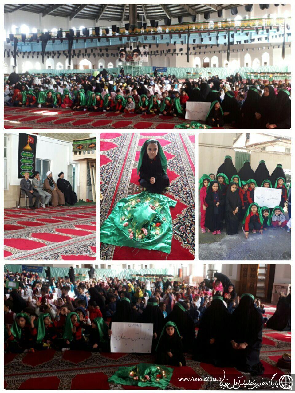 همایش حضرت رقیه در شهرستان آمل برگزار شد.