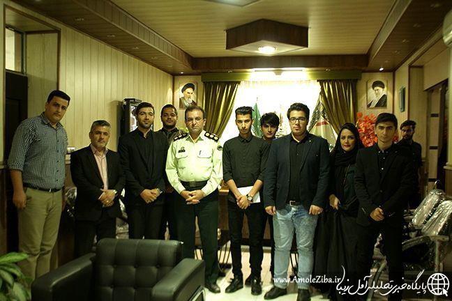در اولین روز از هفته نیروی انتظامی، مدیرمسئول و خبرنگاران سایت خبری تحلیلی آمل زیبا با فرمانده انتظامی آمل دیدار کردند