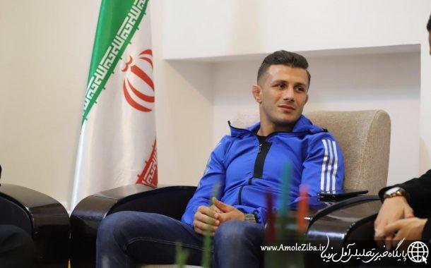 محسن حاجی پور: در چند سال اخیر سختی ها و ناملایمت هایی را تجربه کردم اما باز هم به علت عشق به کشتی دست از تلاش بر نداشتم
