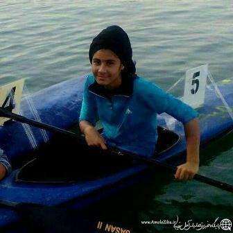دعوت یک آملی به تیم ملی قایقرانی