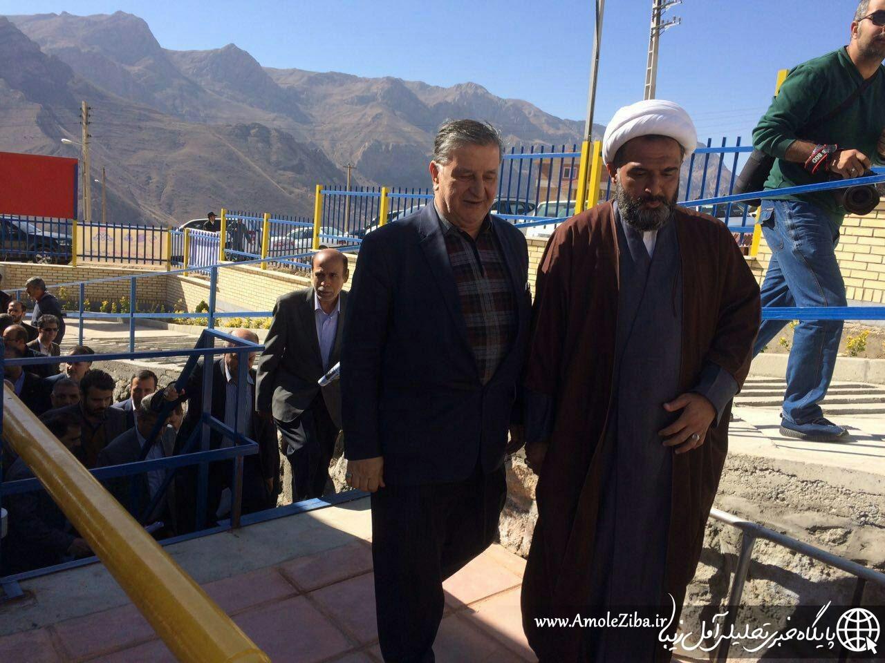 آمل زیبا گزارش می دهد ؛ سخنان حجت الاسلام شکری (امام جمعه بخش لاریجان) در حاشیه کلنک زنی ساختمان هواشناسی شهر رینه