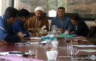 جلسه ماهانه دهیاران بخش لاریجان در محل بخشداری برگزار شد