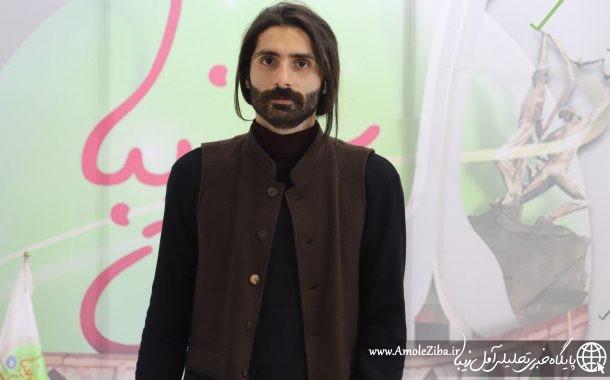حضور محمدرضا شجاعی، کارگردان و بازیگر مطرح تئاتر آمل در دفتر آمل زیبا
