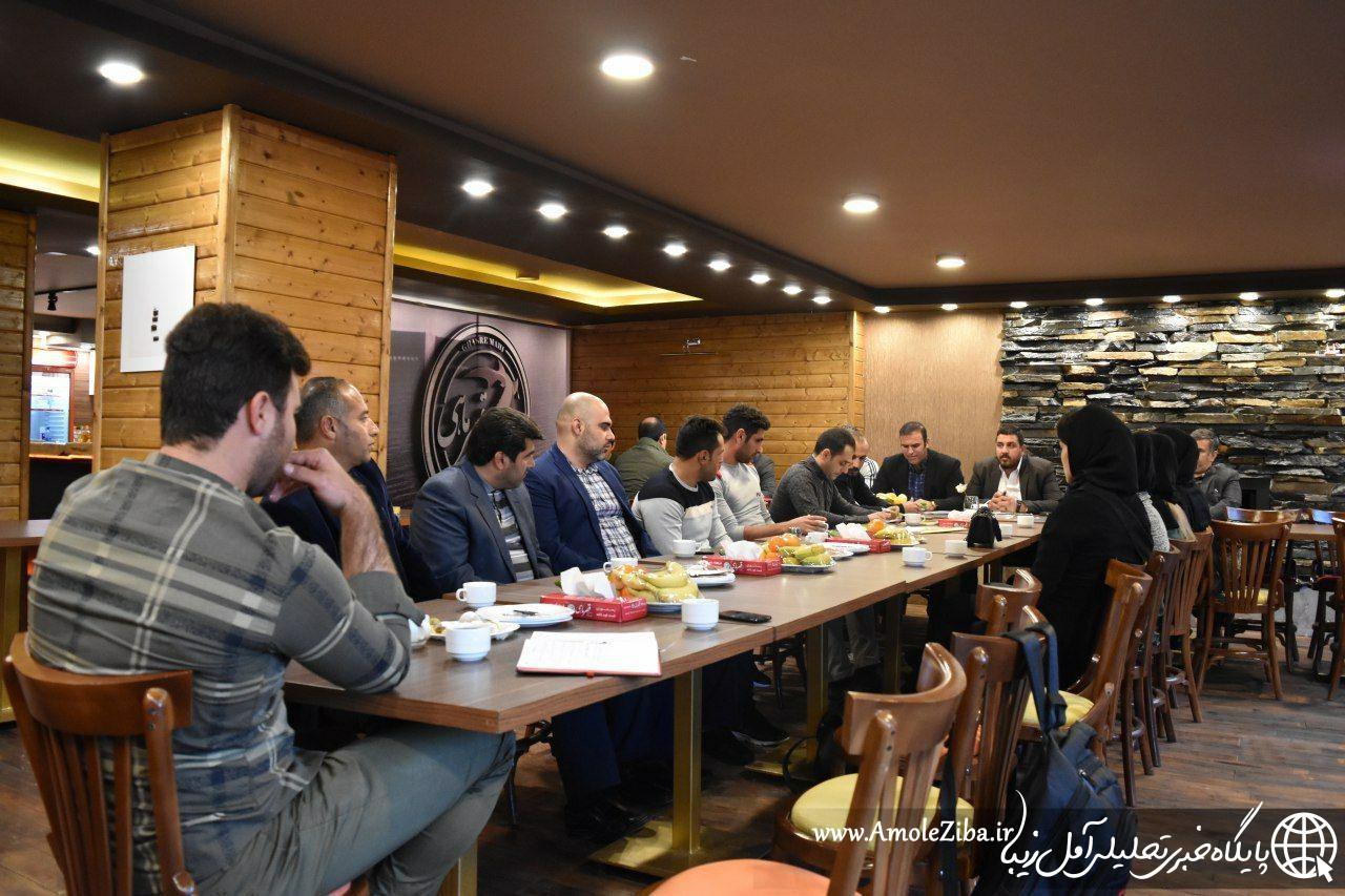 نشست و هم اندیشی راهبردی کمیته کیک بوکسینگ W.K.A.F مازندران