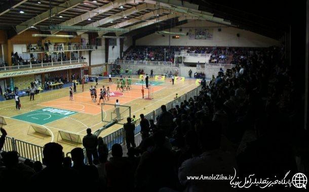 گزارش تصویری از بازی کاله آمل و شهرداری ورامین