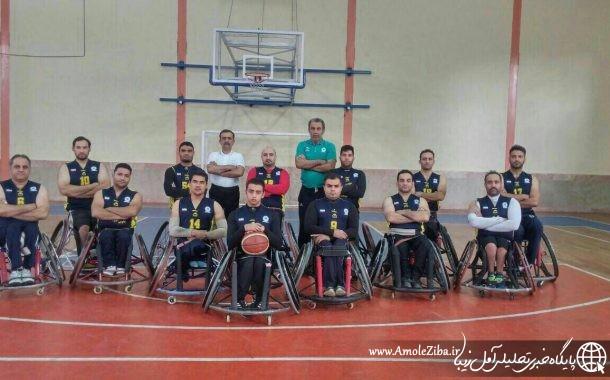 لیگ برتر بسکتبال با ويلچر/شکست شهرداری آمل مقابل نماینده مشهد در گام نخست