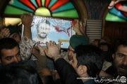 مراسم وداع با شهيد مهدي قره محمدي