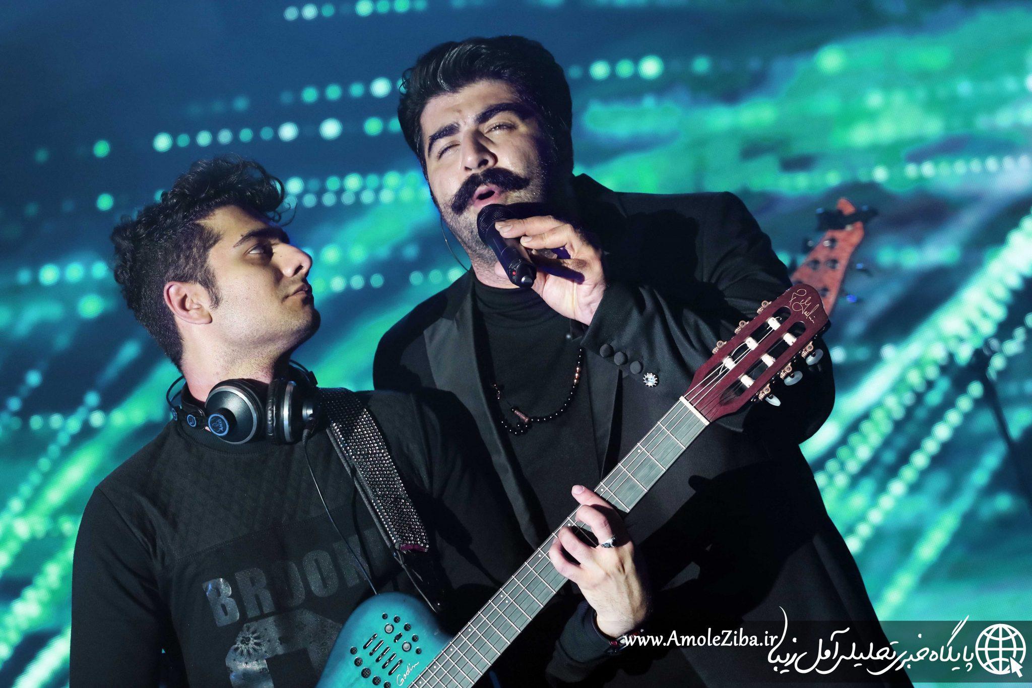 گزارش تصویری از کنسرت بهنام بانی / 24دی سالن اریکه آریایی آمل