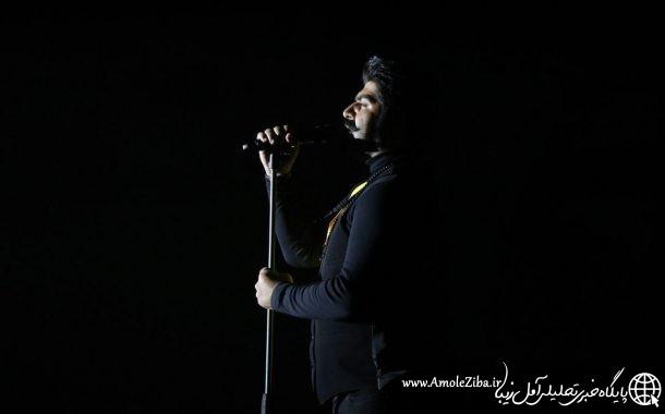 گزارش تصویری از کنسرت بهنام بانی / 23 دی سالن اریکه آریایی آمل