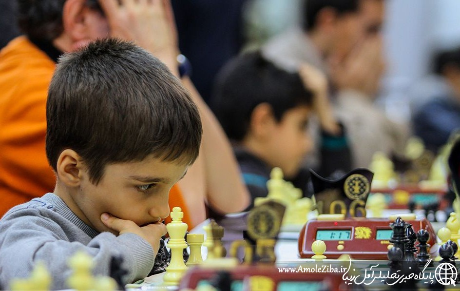 مسابقات شطرنج جام بینالمللی فجر در آمل آغاز شد