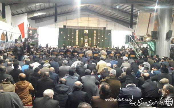 اولین سالگرد شهید مدافع حرم آملی مصطفی زال نژاد