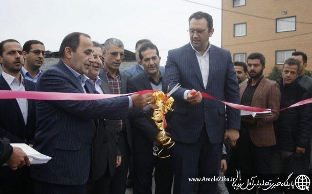 گزارش تصويری از افتتاح 5 پروژه شهرداری آمل