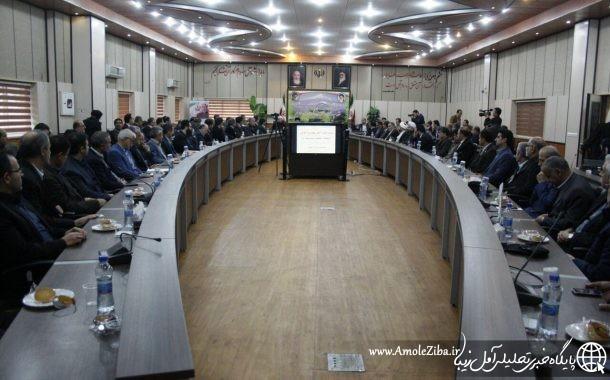 استاندار به آمل رسيد!/ گزارش تصويري از جلسه شوراي اداري شهرستان آمل