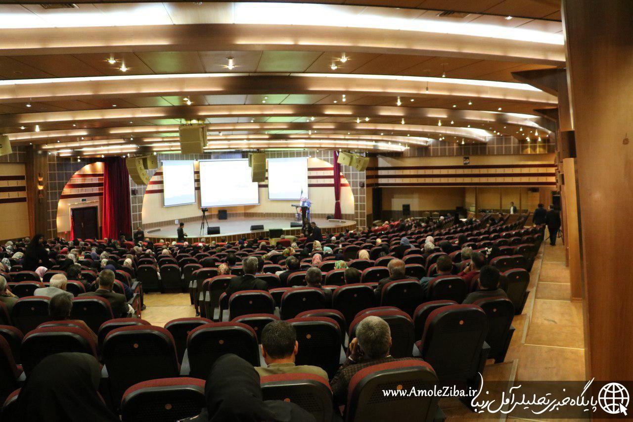 گزارش تصویری از گردهمایی بزرگ کارگران و بازنشستگان آمل / اریکه