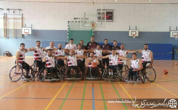 آملی ها میزبان ملی پوشان بسکتبال با ولیچر